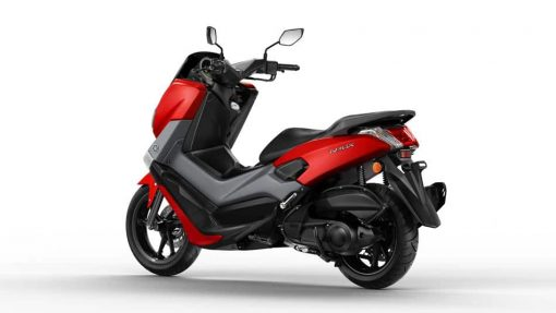 Yamaha NMAX 125 scooter red back