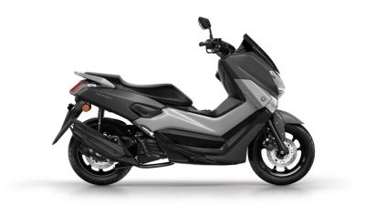 Yamaha NMAX scooter matt grey