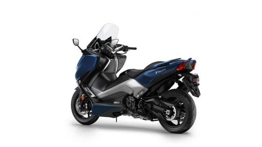 Yamaha TMAX-DX blue colour back view