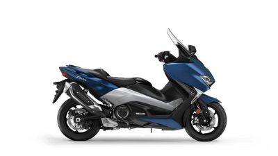 Yamaha TMAX DX scooter phantom blue colour