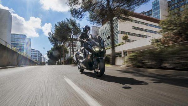 Yamaha TMAX bike Chelsea