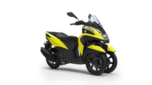 Yamaha Tricity 125 scooter yellow colour