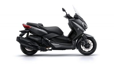 Yamaha X MAX 400 scooter colour matt grey