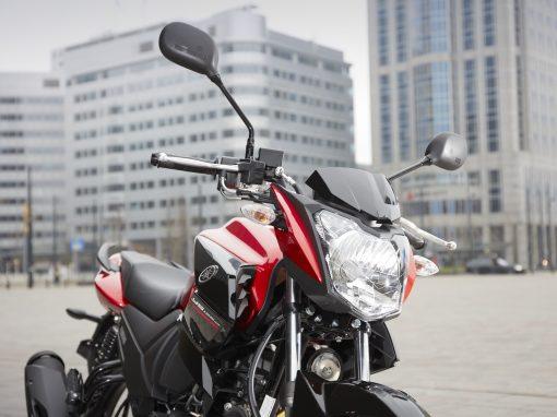 Yamaha YS125 road motorbike brakes