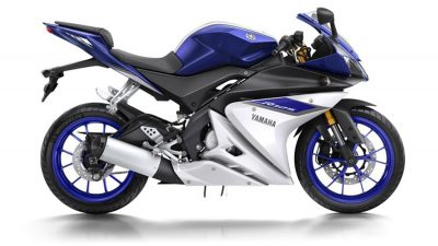 Yamaha YZF R125 ABS road bike colour blue