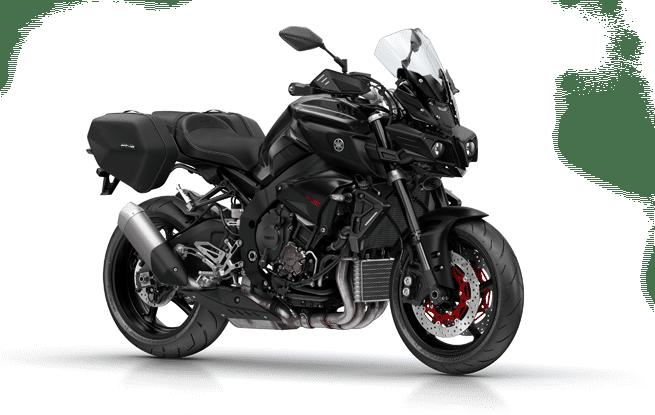 Motorcycle Hire - Black Yamaha
