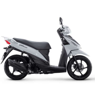 Suzuki Address 110 Scooter White