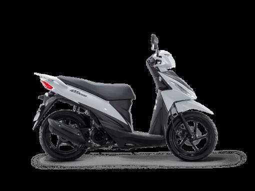 Suzuki Address 110 Scooter White