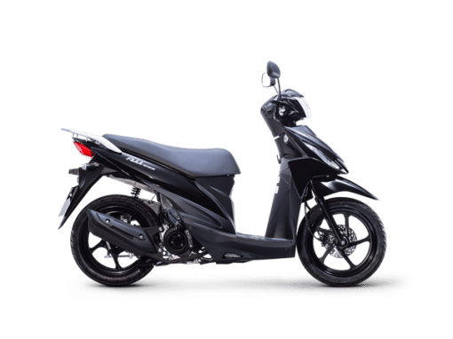 Suzuki Address Scooter black