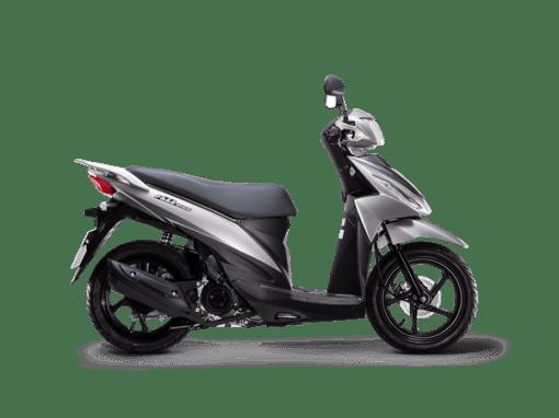 Suzuki Address Scooter Grey