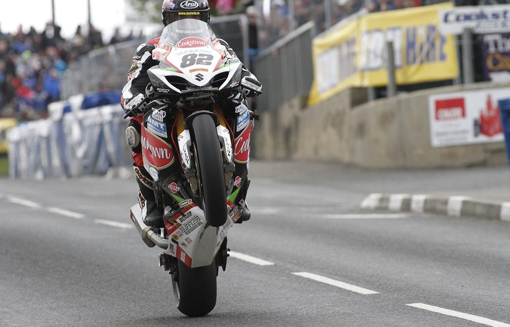 Sheils doubles up at Cookstown road races