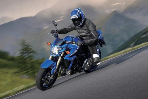 Suzuki-GSR 750 - adventure motorbike