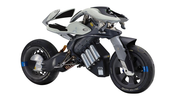 2017 Tokyo Motor Show - Yamaha MOTOROiD electric bike