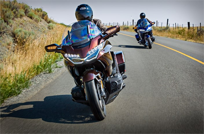 Honda GL1800 Gold Wing motorcycle Chelsea