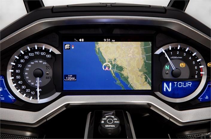 Honda GL1800 Gold Wing motorcycle navigation