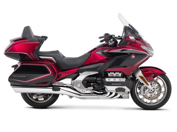 2018 Honda GL1800 Gold Wing motorcycle side view