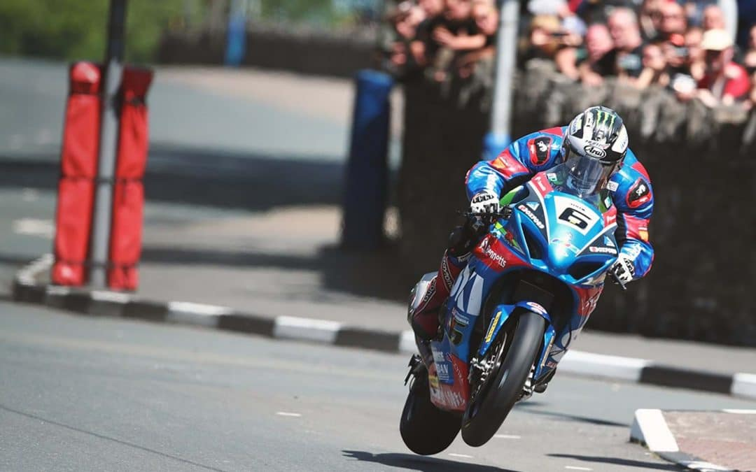 Buy a TT winner and be part of the Suzuki team