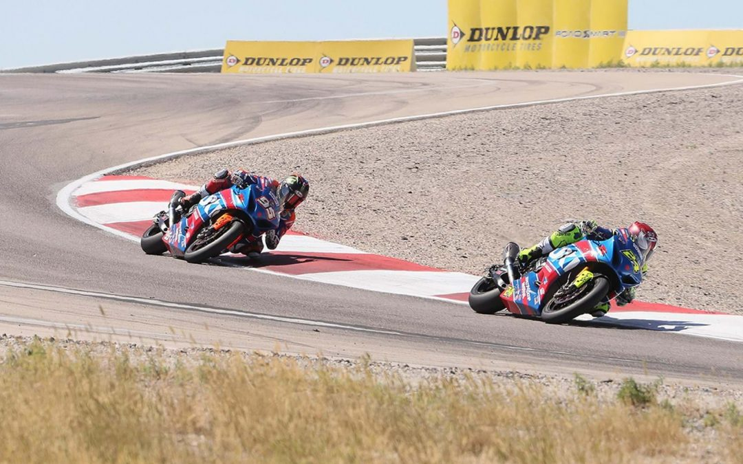 Elias and Hayden dominate Utah MotoAmerica