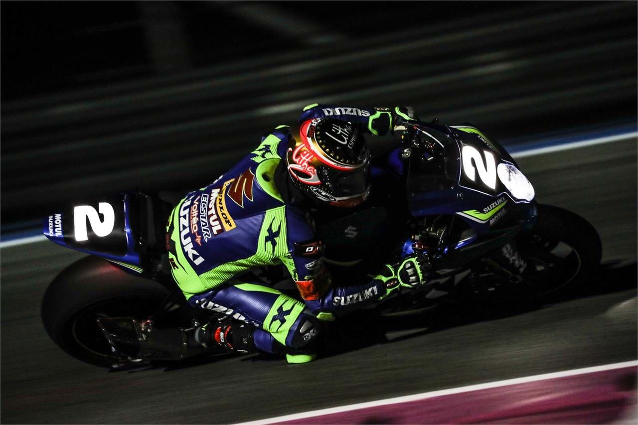 Gregg Black on GSX-R1000 motorcycle