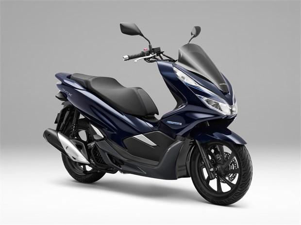 Honda PCX Hybrid scooter