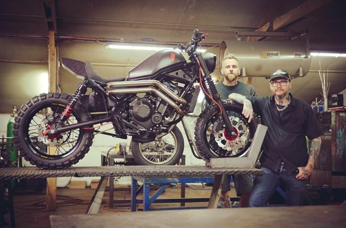Honda Rebel for The Bike Shed 2017