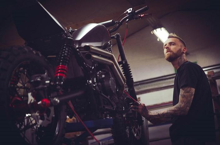 Honda Rebel - ready for The Bike Shed 2017
