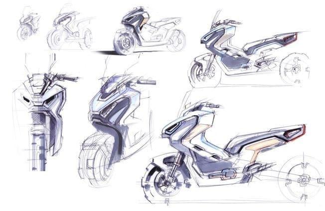 Honda's new X-ADV meets the art world