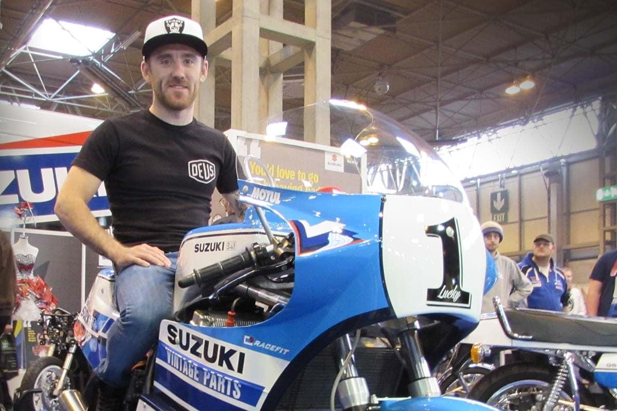 Lee Johnston - Suzuki vintage parts