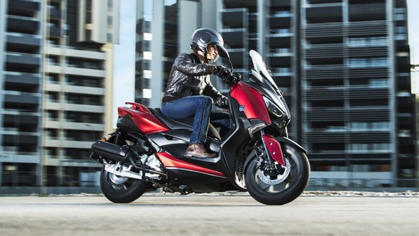 New X-MAX 125 scooter