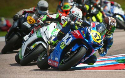 Cooper wins at Thruxton for Bennetts Suzuki