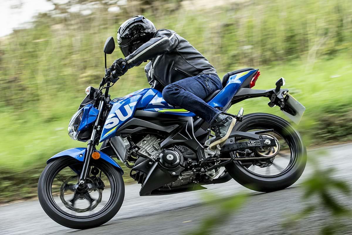 Suzuki GSX-S125 motorbike Chelsea