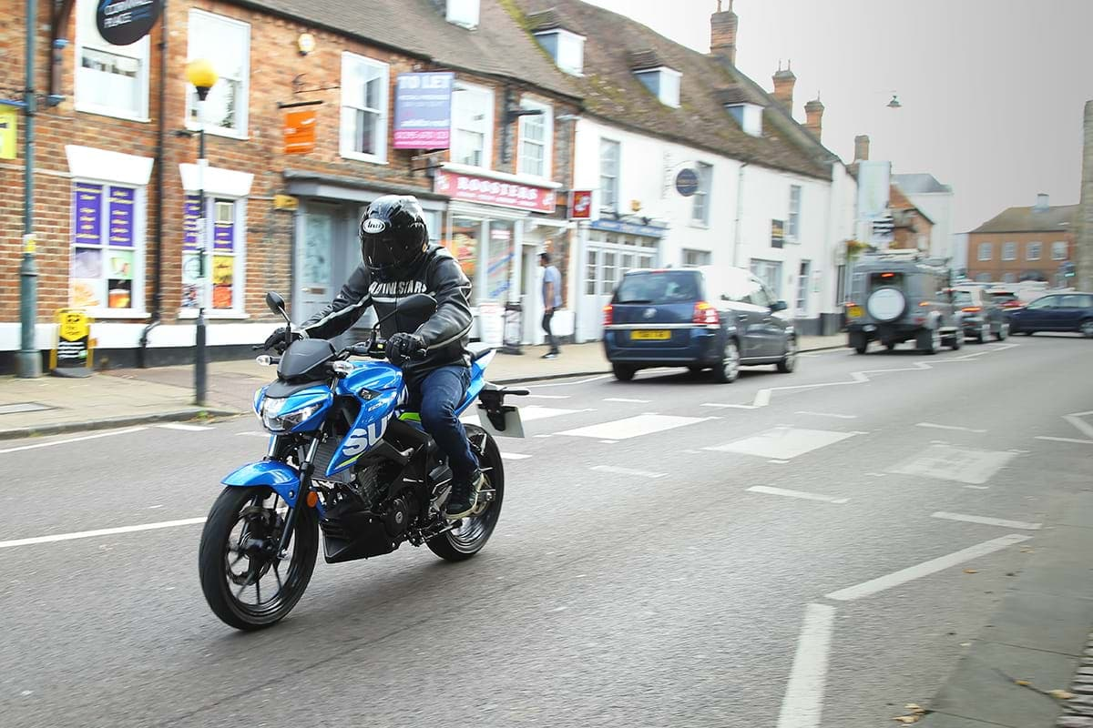 Suzuki GSX S125 motorcycle London