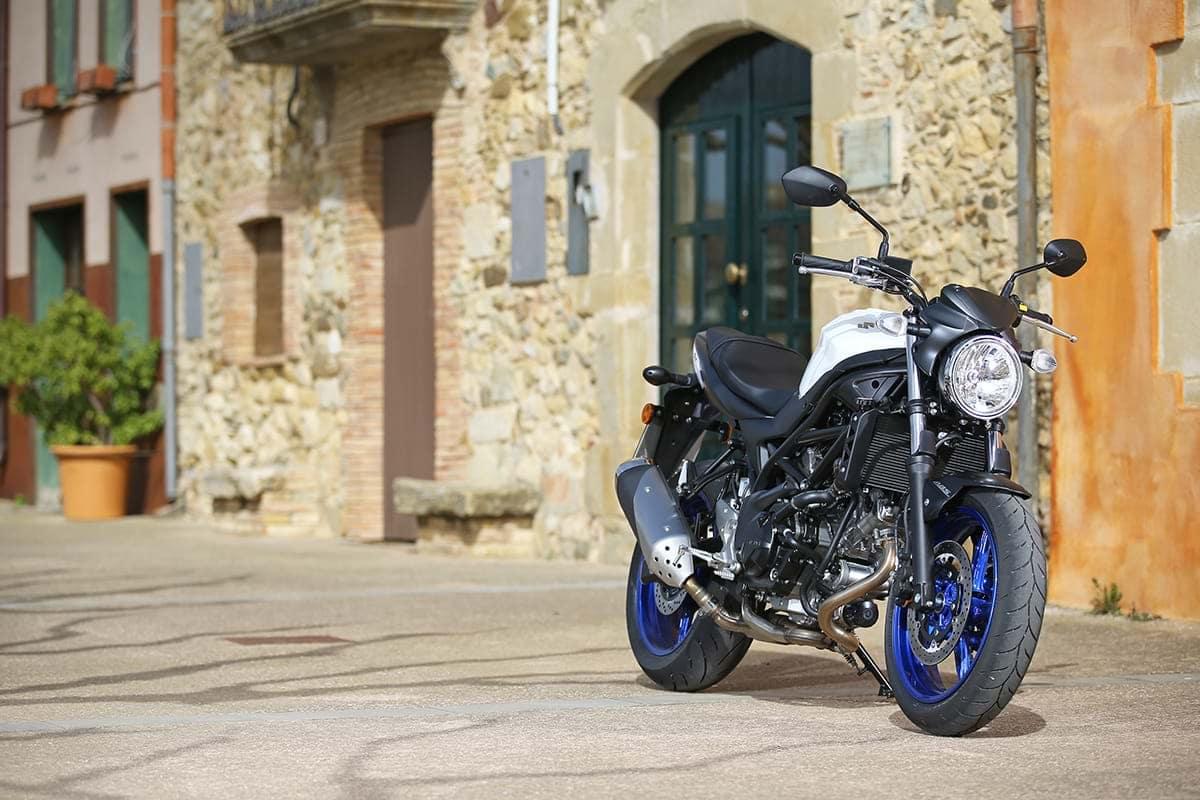 Suzuki SV650 motorcycle - London