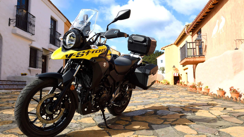 Suzuki V-Strom 250 AL8 motorcycle at Chelsea