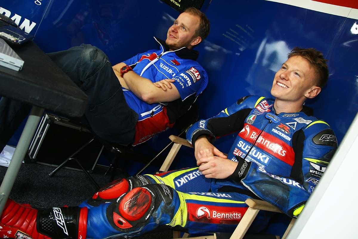 Bennetts Suzuki's heroes of the day - MCE British Superbike Championship