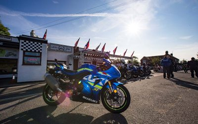 Suzuki test ride tour set for the Super Sausage café