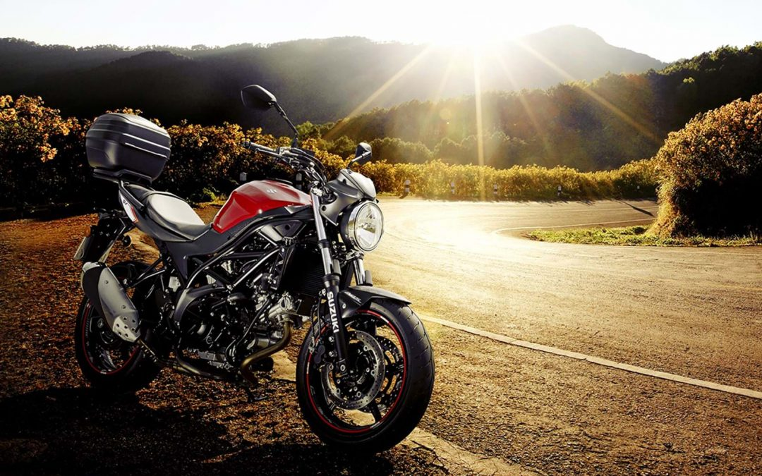 Free fuel and top box with new SV650