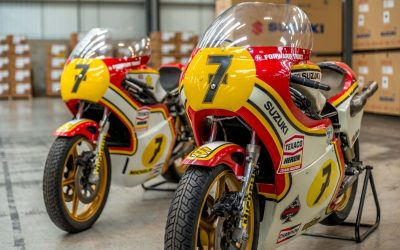 Suzuki to attend Staffordshire Classic Motorcycle show
