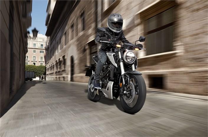 2018 Honda CB125R bike riding London