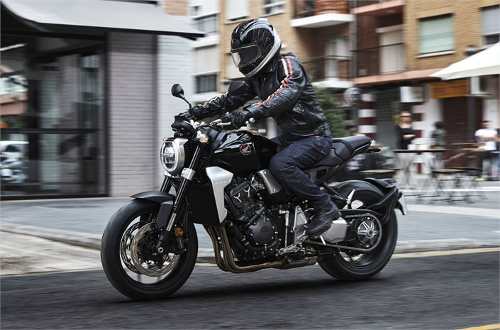 2018 Honda CB1000R bike - riding London