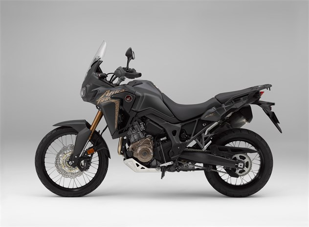 2018 CRF1000L AfricaTwinbike - side profile, black colour