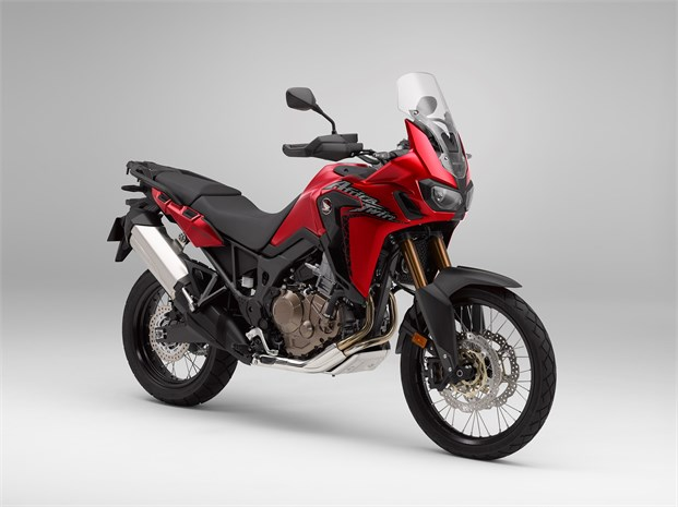 2018 CRF1000L Africa Twin motorcycle red