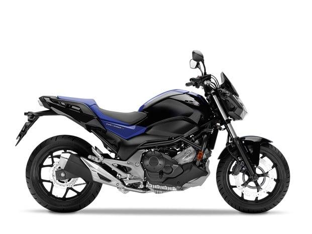 2018 Honda NC750S motorbike - side profile