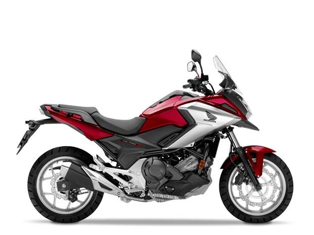 2018 Honda NC750X motorcycle - side profile