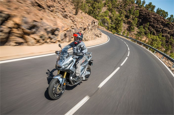 2018 Honda X-ADV - on way to Chelsea