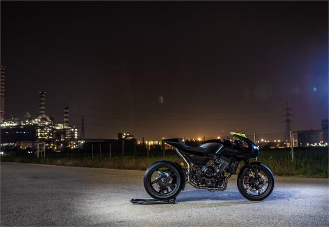 Honda CB4 'Interceptor' motorcycle