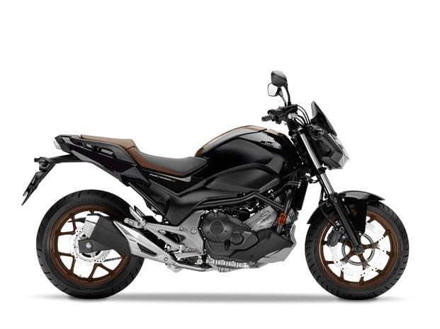 Honda NC750S motorcycle - side profile