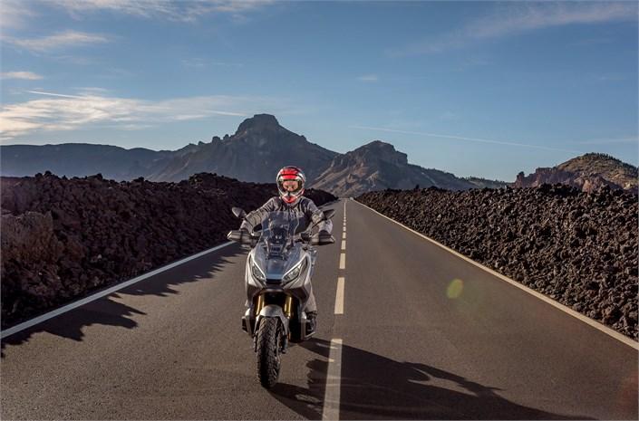 2018 Honda X-ADV scooter - lifestyle
