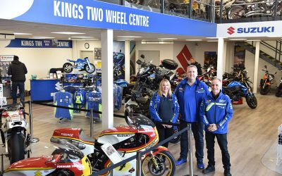 Open day marks launch of new showroom at Kings Two Wheel Centre