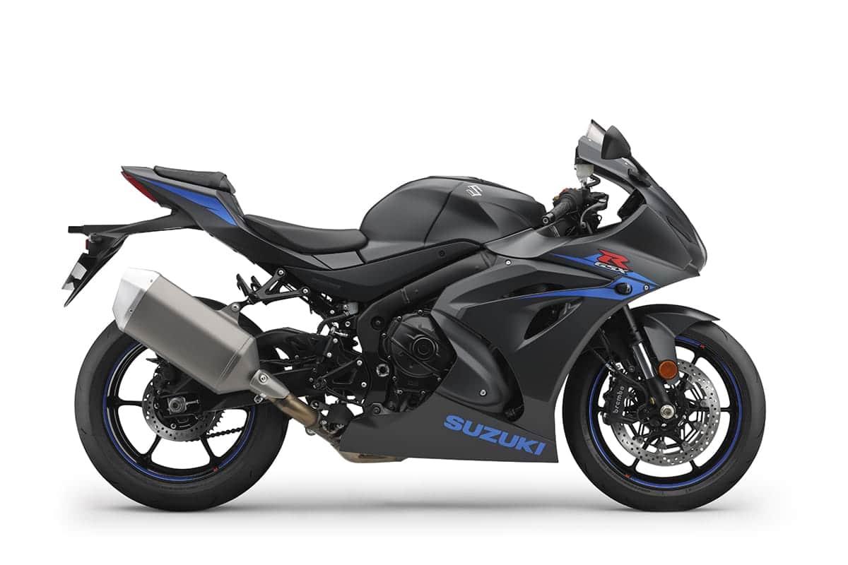 Suzuki GSX R1000 motorbike - matt black